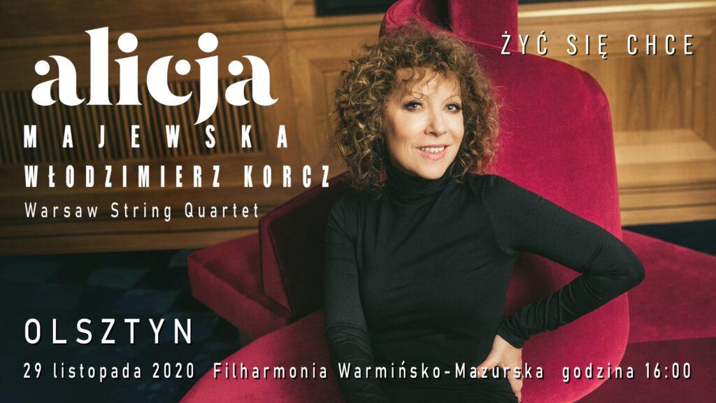 Alicja Majewska, Olsztyn