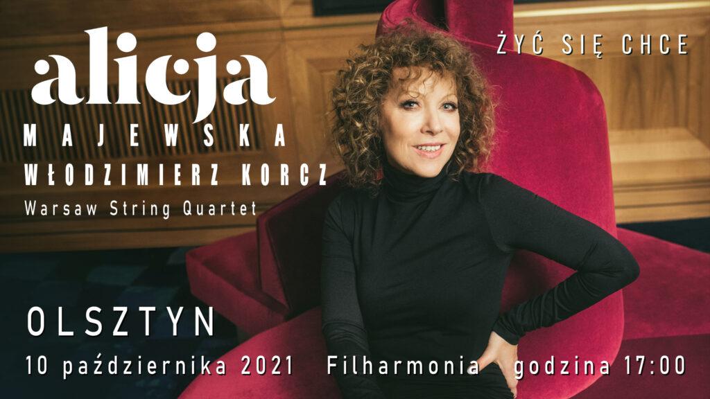 Alicja Majewska, koncert Olsztyn
